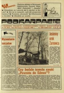 Podkarpacie : tygodnik Polskiej Zjednoczonej Partii Robotniczej. - R. 16, nr 45 (5 list. 1986) = 827