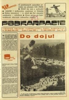 Podkarpacie : tygodnik Polskiej Zjednoczonej Partii Robotniczej. - R. 17, nr 28 (9 lip. 1987) = 862
