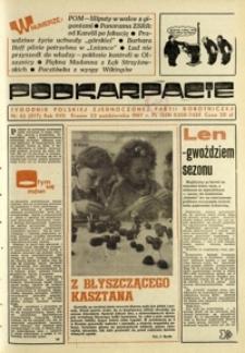 Podkarpacie : tygodnik Polskiej Zjednoczonej Partii Robotniczej. - R. 17, nr 43 (22 paźdz. 1987) = 877