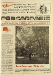 Podkarpacie : tygodnik Polskiej Zjednoczonej Partii Robotniczej. - R. 17, nr 44 (29 paźdz. 1987) = 878
