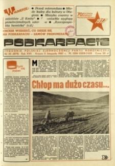 Podkarpacie : tygodnik Polskiej Zjednoczonej Partii Robotniczej. - R. 17, nr 45 (5 list. 1987) = 879