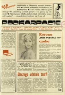 Podkarpacie : tygodnik Polskiej Zjednoczonej Partii Robotniczej. - R. 18, nr 4 (28 stycz. 1988) = 890