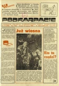 Podkarpacie : tygodnik Polskiej Zjednoczonej Partii Robotniczej. - R. 18, nr 12 (24 marz. 1988) = 898