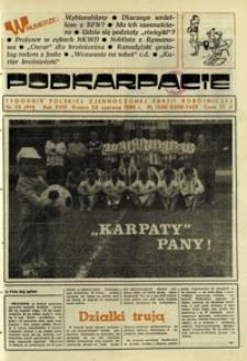 Podkarpacie : tygodnik Polskiej Zjednoczonej Partii Robotniczej. - R. 18, nr 25 (23 czerw. 1988) = 911