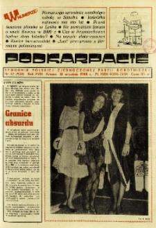 Podkarpacie : tygodnik Polskiej Zjednoczonej Partii Robotniczej. - R. 18, nr 37 (15 wrzes. 1988) = 923