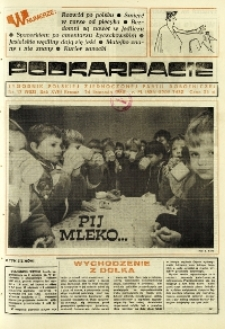 Podkarpacie : tygodnik Polskiej Zjednoczonej Partii Robotniczej. - R. 18, nr 47 (24 list. 1988) = 933