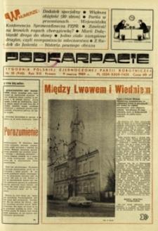 Podkarpacie : tygodnik Polskiej Zjednoczonej Partii Robotniczej. - R. 19, nr 10 (9 marz. 1989) = 948