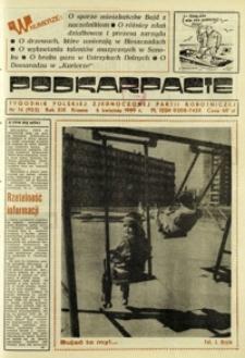 Podkarpacie : tygodnik Polskiej Zjednoczonej Partii Robotniczej. - R. 19, nr 14 (6 kwiec. 1989) = 952