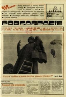 Podkarpacie : tygodnik Polskiej Zjednoczonej Partii Robotniczej. - R. 19, nr 20 (18 maj 1989) = 958