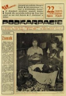 Podkarpacie : tygodnik Polskiej Zjednoczonej Partii Robotniczej. - R. 19, nr 29 (20 lip. 1989) = 967