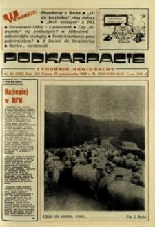 Podkarpacie : tygodnik regionalny. - R. 19, nr 42 (19 paźdz. 1989) = 980