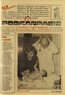 Podkarpacie : tygodnik regionalny. - R. 19, nr 45 (9 list. 1989) = 983