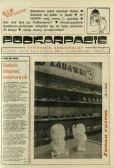 Podkarpacie : tygodnik regionalny. - R. 20, nr 4 (25 stycz. 1990) = 994
