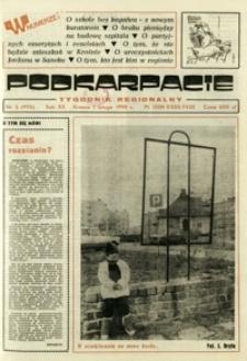 Podkarpacie : tygodnik regionalny. - R. 20, nr 5 (1 luty 1990) = 995