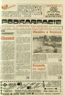 Podkarpacie : tygodnik regionalny. - R. 20, nr 30 (26 lip. 1990) = 1020