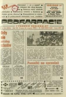 Podkarpacie : tygodnik regionalny. - R. 20, nr 34 (23 sierp. 1990) = 1024