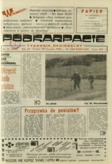 Podkarpacie : tygodnik regionalny. - R. 20, nr 35 (30 sierp. 1990) = 1025