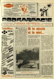 Podkarpacie : tygodnik regionalny. - R. 21, nr 2 (10 stycz. 1991) = 1044