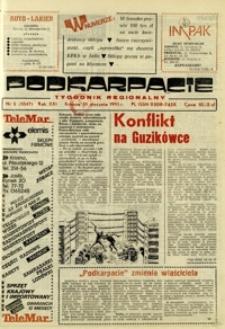Podkarpacie : tygodnik regionalny. - R. 21, nr 5 (31 stycz. 1991) = 1047