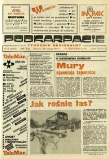 Podkarpacie : tygodnik regionalny. - R. 21, nr 9 (28 luty 1991) = 1051