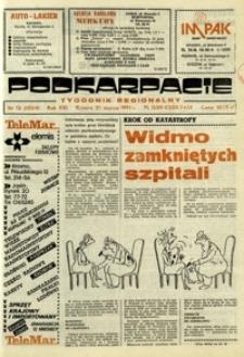 Podkarpacie : tygodnik regionalny. - R. 21, nr 12 (21 marz. 1991) = 1054