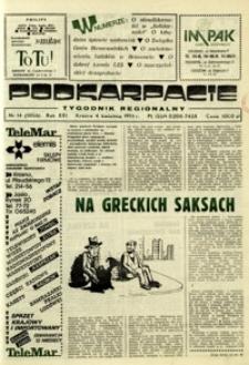 Podkarpacie : tygodnik regionalny. - R. 21, nr 14 (4 kwiec. 1991) = 1056