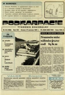 Podkarpacie : tygodnik regionalny. - R. 21, nr 26 (27 czerw. 1991) = 1068