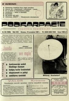 Podkarpacie : tygodnik regionalny. - R. 21, nr 38 (19 wrzes. 1991) = 1080