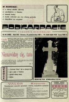 Podkarpacie : tygodnik regionalny. - R. 21, nr 44 (31 paźdz. 1991) = 1086