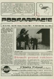 Podkarpacie : tygodnik regionalny. - R. 21, nr 11 (12 marz. 1992) = 1105