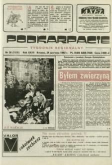 Podkarpacie : tygodnik regionalny. - R. 23, nr 26 (24 czerw. 1992) = 1120