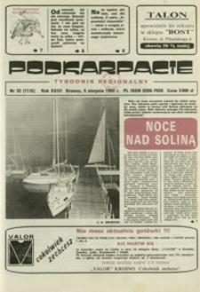 Podkarpacie : tygodnik regionalny. - R. 23, nr 32 (5 sierp. 1992) = 1126