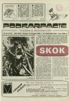 Podkarpacie : tygodnik regionalny. - R. 23, nr 33 (12 sierp. 1992) = 1127