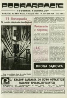Podkarpacie : tygodnik regionalny. - R. 23, nr 46 (11 list. 1992) = 1140