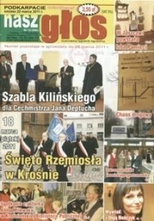 Nasz Głos : ilustrowany tygodnik regionalny. - 2011, nr 12 (22 marz.) = 394