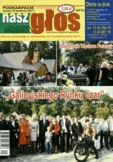 Nasz Głos : ilustrowany tygodnik regionalny. - 2011, nr 31 (20 wrzes.) = 413
