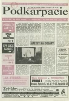 Podkarpacie : tygodnik regionalny. - R. 24, nr 16 (21 kwiec. 1993) = 1163