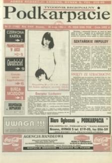 Podkarpacie : tygodnik regionalny. - R. 24, nr 21 (26 maj 1993) = 1168