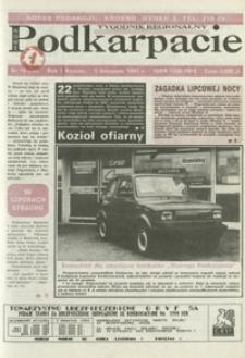 Nowe Podkarpacie : tygodnik regionalny. - R. 1, nr 18 (3 list. 1993) = 18