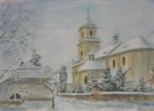 Kościół pw. św. Wawrzyńca w Rymanowie-Zdroju [Dokument ikonograficzny]