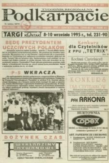 Nowe Podkarpacie : tygodnik regionalny. - R. 4, nr 34 (23 sierp. 1995) = 112