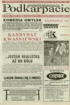 Nowe Podkarpacie : tygodnik regionalny. - R. 4, nr 37 (13 wrzes. 1995) = 115