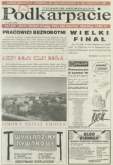 Nowe Podkarpacie : tygodnik regionalny. - R. 4, nr 7 (14 luty 1996) = 137