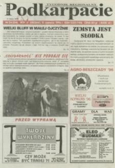 Nowe Podkarpacie : tygodnik regionalny. - R. 4, nr 24 (12 czerw. 1996) = 154