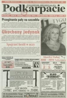 Nowe Podkarpacie : tygodnik regionalny. - R. 4, nr 32 (7 sierp. 1996) = 162