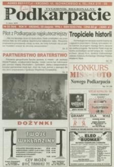 Nowe Podkarpacie : tygodnik regionalny. - R. 4, nr 35 (28 sierp. 1996) = 164