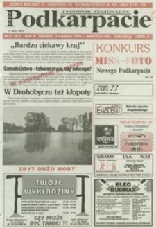 Nowe Podkarpacie : tygodnik regionalny. - R. 4, nr 37 (11 wrzes. 1996) = 167