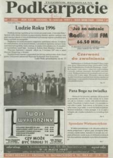 Podkarpacie : tygodnik regionalny. - R. 24, nr 11 (16 kwiec. 1997) = 1184