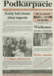 Podkarpacie : tygodnik regionalny. - R. 24, nr 13 (30 kwiec. 1997) = 1186