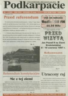 Podkarpacie : tygodnik regionalny. - R. 24, nr 16 (21 maj 1997) = 1189